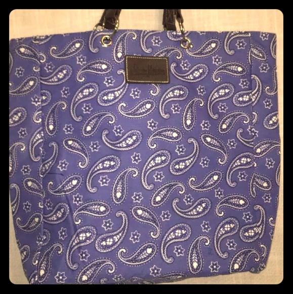 Neiman Marcus Handbags - Neiman Marcus Tote Shopping Bag  Blue Background